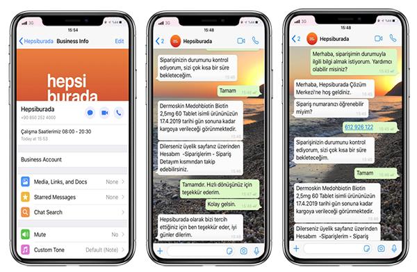 Hepsiburada, WhatsApp Üzerinden Müşteri Hizmetleri Uygulamasını Başlattı