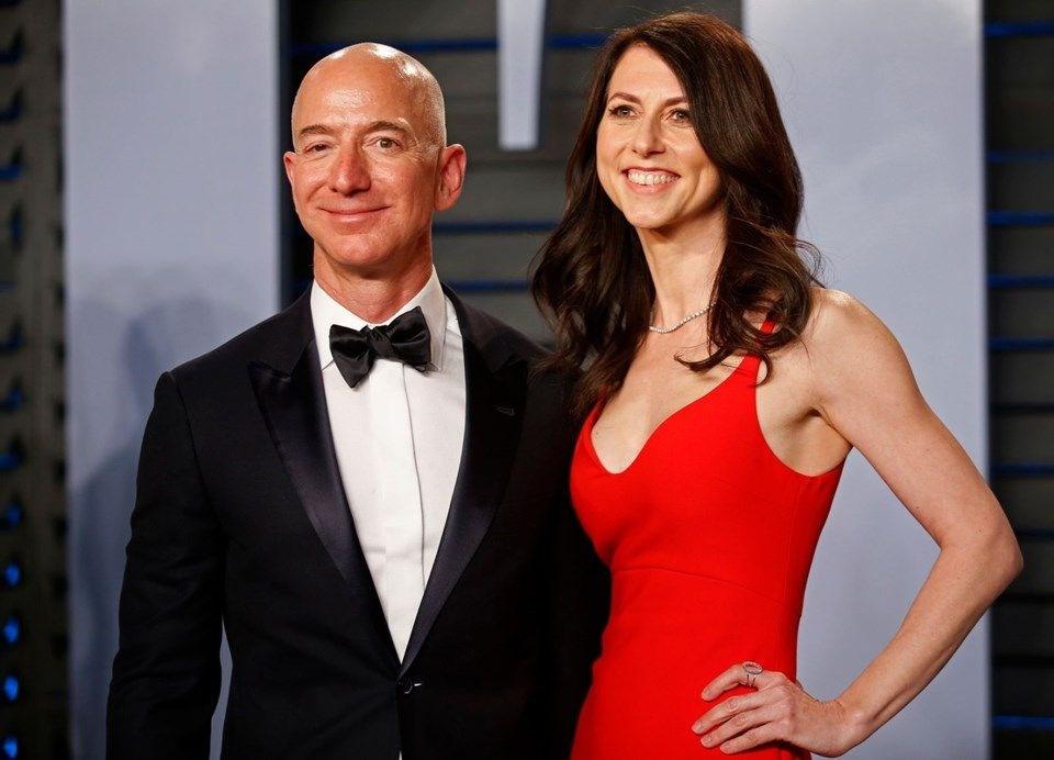 Jeff Bezos ile Mackenzie Boşanmasından Rekor Tazminat