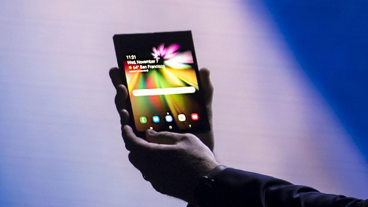 Samsung Galaxy Fold Piyasaya Çıkmasına Günler Kala Ekran Sorunu ile Gündemde