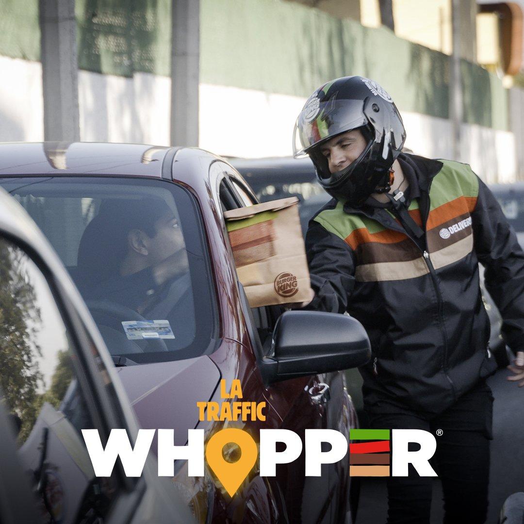 Burger King, Trafikteki Sürücülere Özel Whopper Hizmetine Başladı