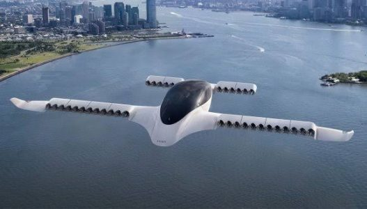 Elektrikli Hava Taksi Girişimi Lilium İlk Test Uçuşunu Tamamladı