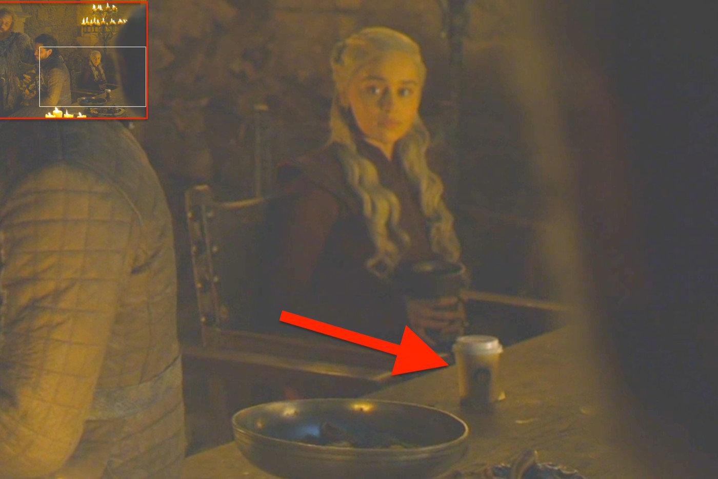 Game of Thrones'ta Gözüken Starbucks Bardağının Olayı Neydi?