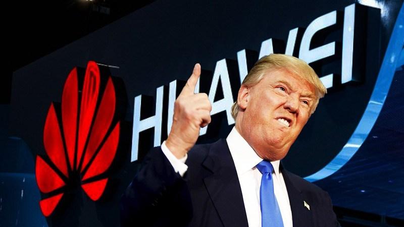 Donald Trump'tan Huawei'ye  Ağır Yaptırımlı Kararname