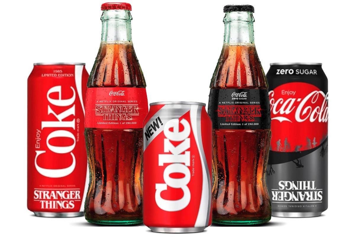 Coca-Cola, Yıllar Önceki Başarısız Ürününü Stranger Things İçin Yeniden Piyasaya Sürüyor