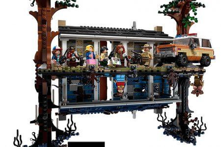 Lego'nun 'Stranger Things' Konseptli Seti ile Sizin de Dünyanız Tepetaklak Olacak