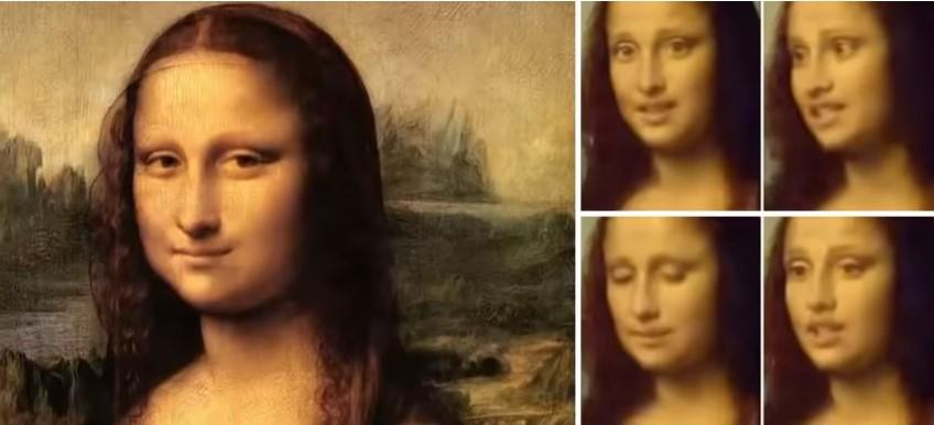 Dünyaca Ünlü Portre Mona Lisa Hayat Buldu