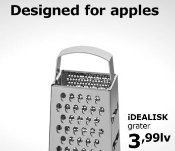 IKEA, Rendeye Benzetilen Yeni Mac Pro'ya Elma Rendesiyle Gönderme Yaptı
