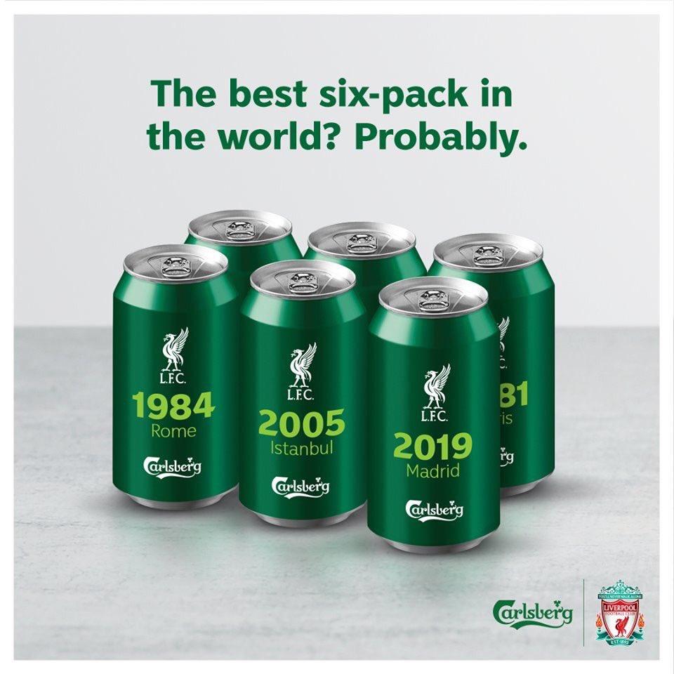 Carlsberg, 31 Yıldır Sponsoru Olduğu Liverpool'un Şampiyonluğunu Böyle Kutladı
