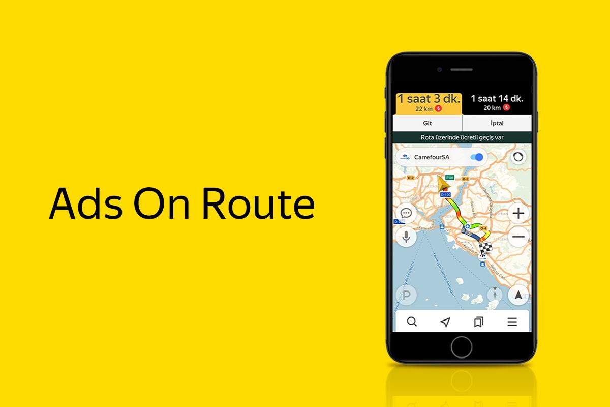 Yandex Navigasyon ve CarrefourSA'dan Türkiye'de Bir İlk Olan Reklam Modeli