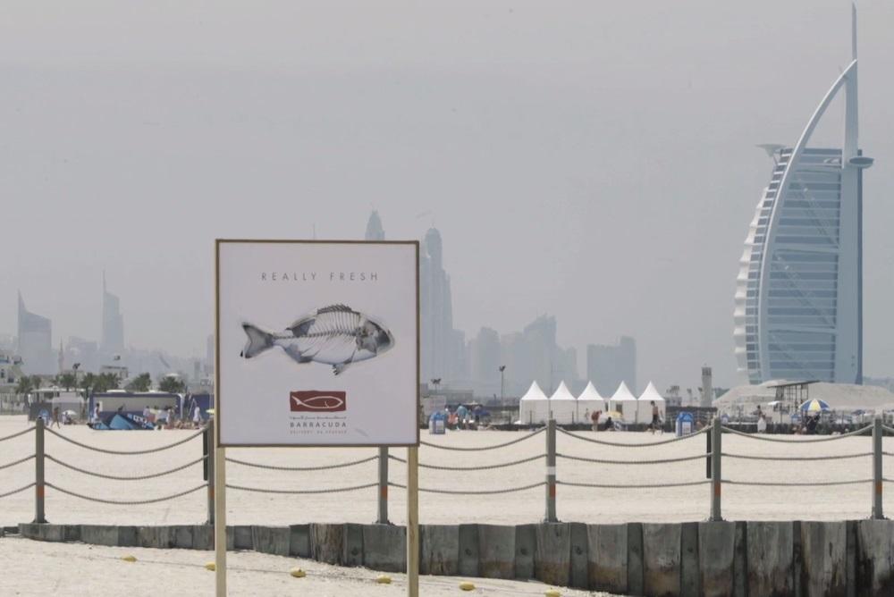 Balık Restoranından Yaratıcı Outdoor: Taze Balık Posterleri