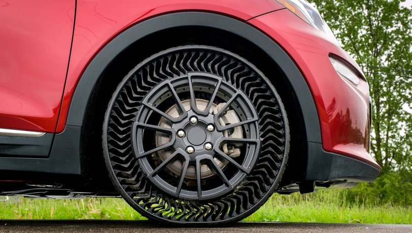 Michelin ve General Motors İş Birliğinde Havasız Lastikler 2024'te Geliyor