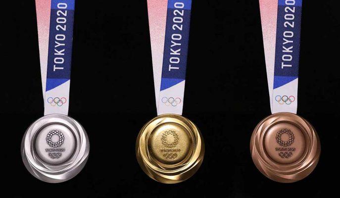 2020 Tokyo Olimpiyatları'nın Elektronik Atıklardan Üretilen Madalyaları