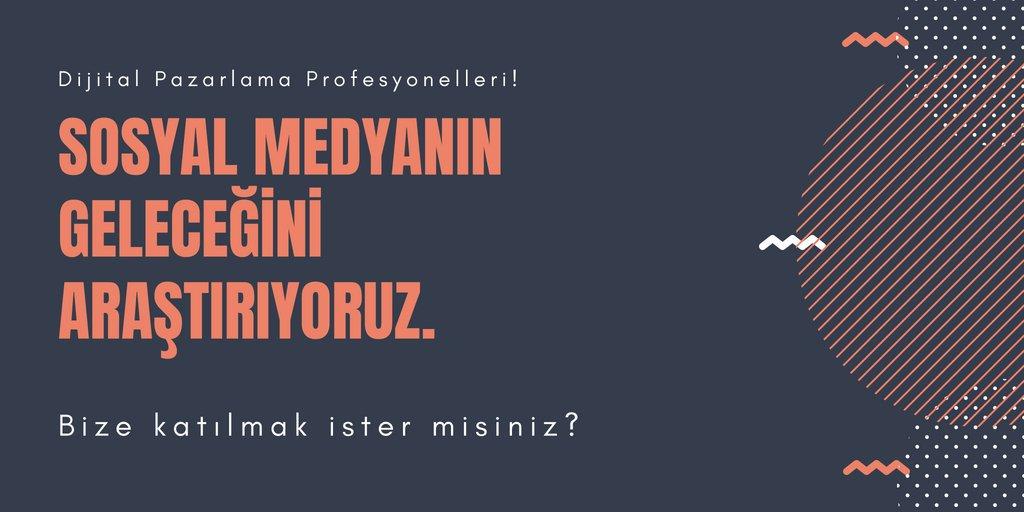 Sosyal Medyanın Türkiye'deki Geleceği – 2019-2020
