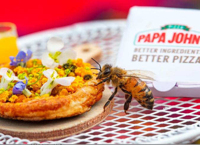 Papa John's'tan Arılara Özel Bir Pizza