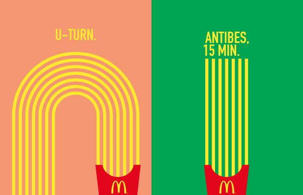 Mc Donald's Patatesleriyle Yol Gösteriyor