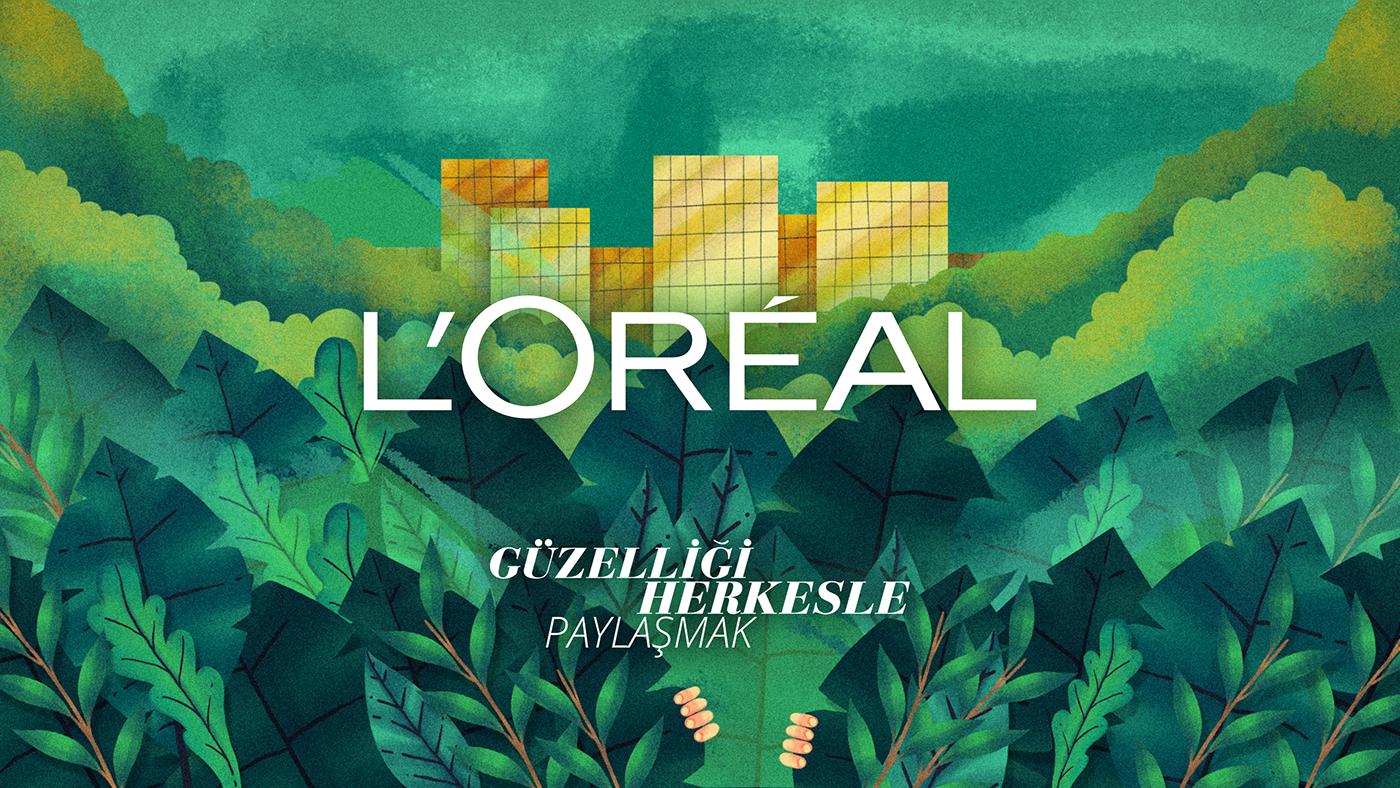 L'Oréal'den Plastiksiz Bir Dünya Taahhütü