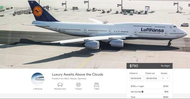 Lufthansa'dan Yaratıcı Bir Çalışma: Uçak Biletini Airbnb'den Satmak