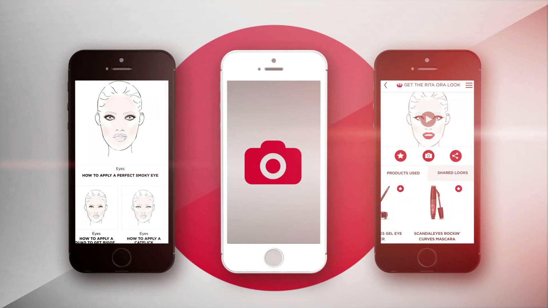 Rimmel London'dan 'Makyaj Shazam'ı' Sayılabilecek bir Uygulama: Get the Look!