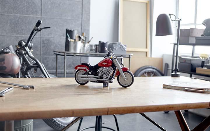 Harley-Davidson ve LEGO'dan Benzersiz Bir Tasarım