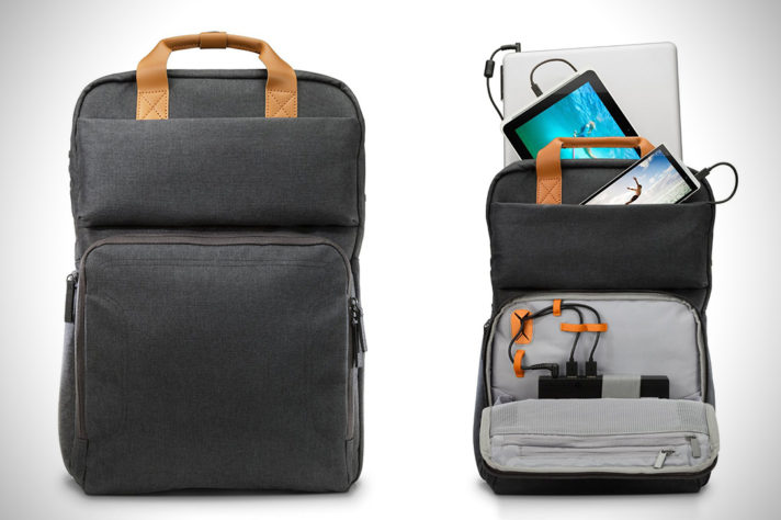 HP'den Bilgisayarınızı Şarj Eden Çanta: The Powerup Backpack