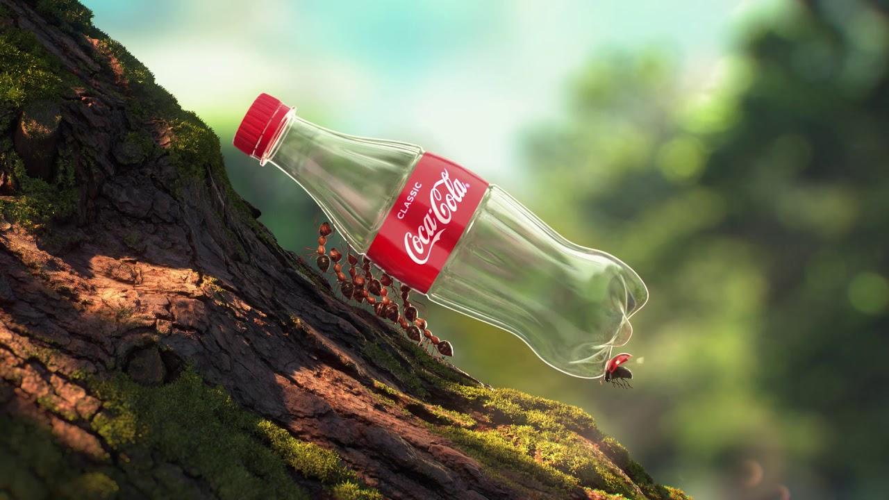 Coca-Cola Avustralya'da Şişelerini Geri Dönüştürülmüş Plastikten Üretiyor