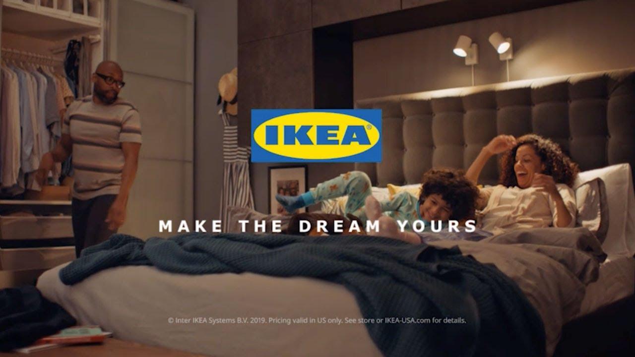 IKEA Yeni Reklamında Kaliteli Uykuyu Sahipleniyor