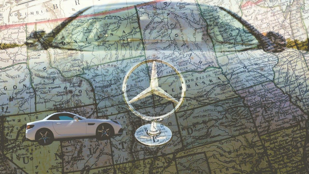 Mercedes-Benz Ödemesi Yapılmayan Araçların Konumlarını İzleyebiliyor