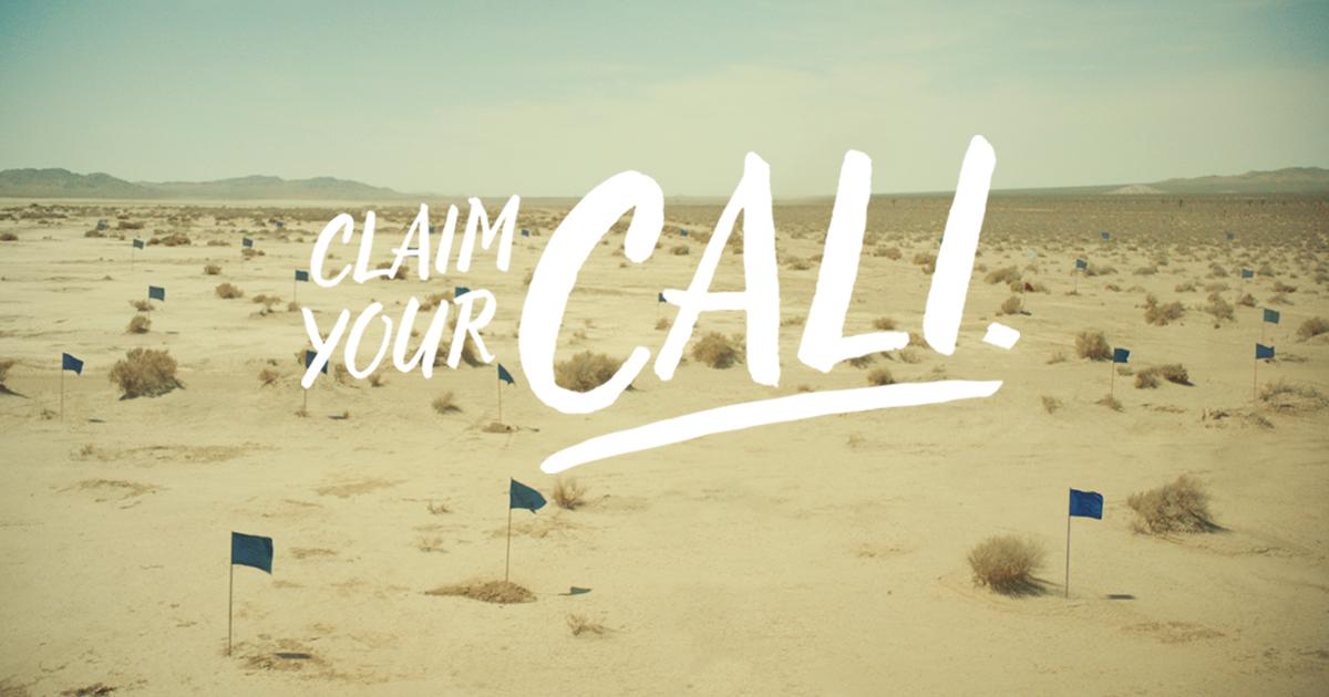 Bir Şişesi California'da Toprak Sahibi Yapan Kampanya: Claim Your Cali