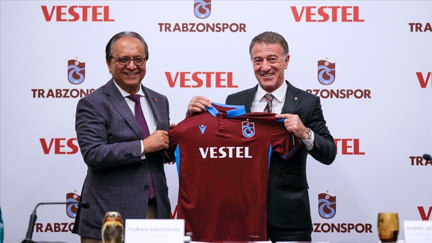 Vestel Yeniden Trabzonspor'un Forma Göğüs Sponsoru Oldu