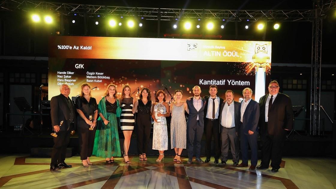 Baykuş Ödülleri Töreninde GfK 5 Baykuş ile Ödüllendirildi