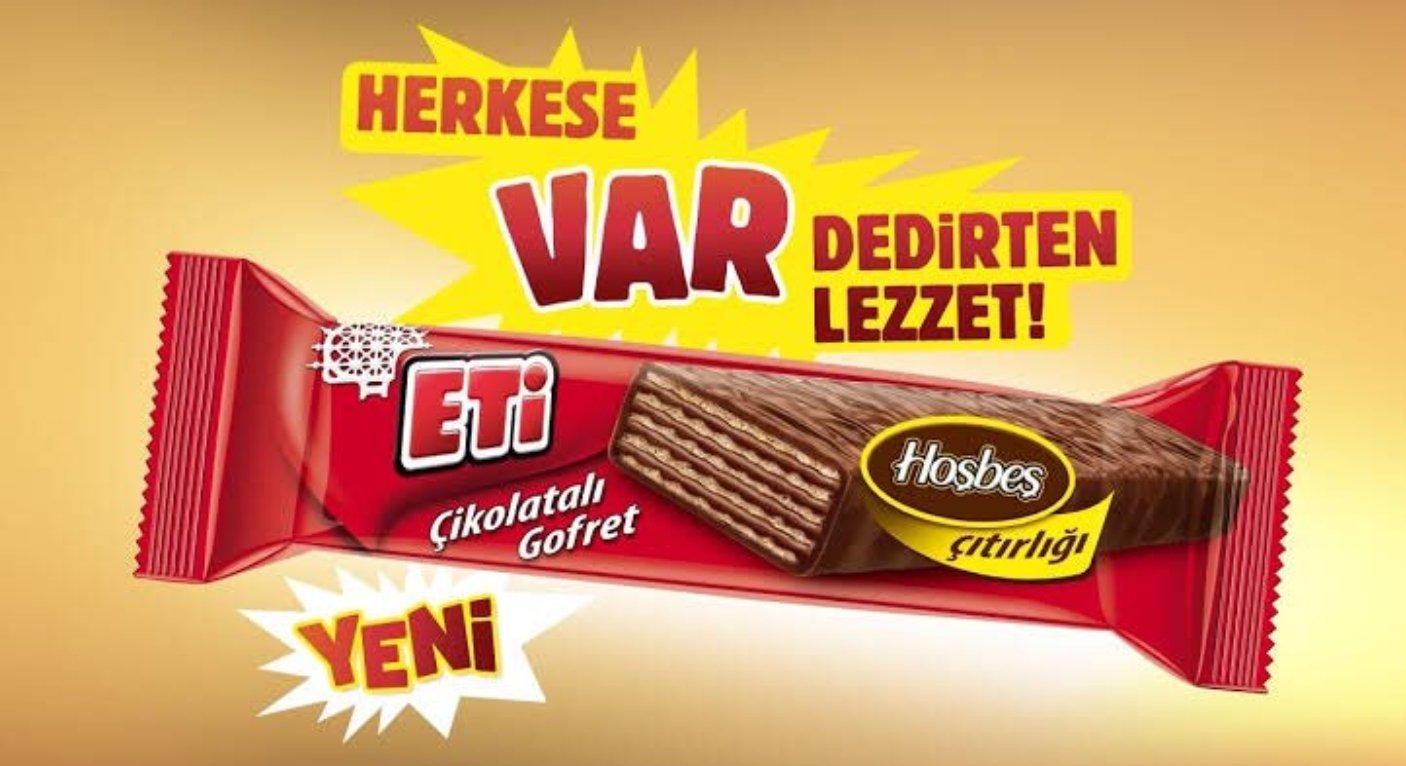 Eti'den Ülker Çikolatalı Gofret'e Göndermeli Yeni Ürün Reklamı