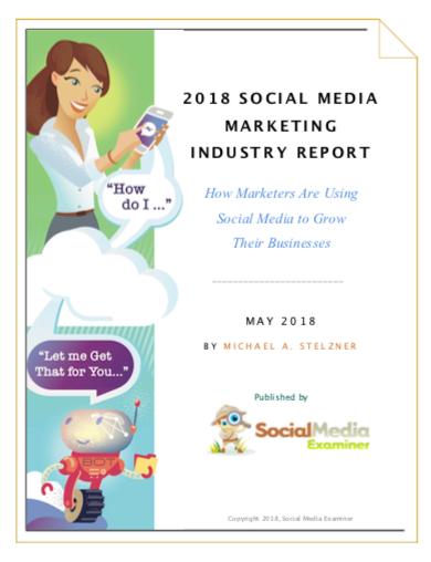 Sosyal Medya Pazarlaması Endüstrisi Raporu 2018