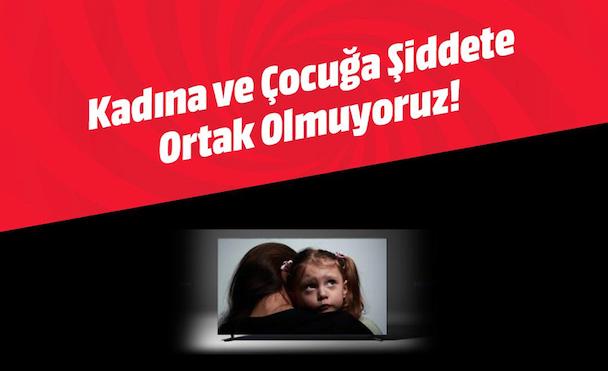 Samsung'dan Sonra MediaMarkt da Kadına ve Çocuğa Şiddet İçeren TV İçeriklerine Reklam Vermeyecek
