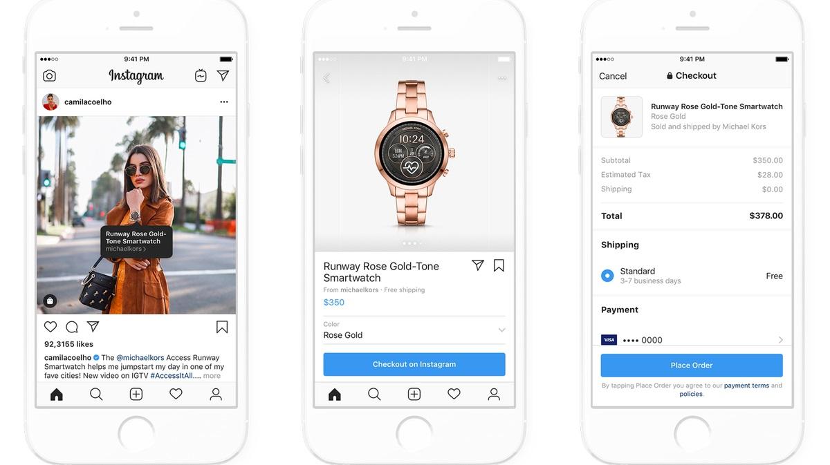 Facebook ve Instagram, Yeni Alışveriş Özelliklerini Test Ediyor