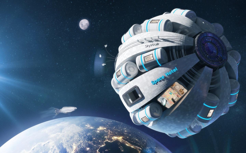 Bu Girişim, Uzay Oteli Yapıp Ona Bir Nazi Bilim Adamının Adını Vermeyi İstiyor