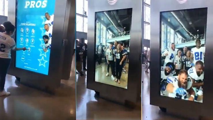 Amerikan Futbolu Takımından İstediğiniz Oyuncu ile Selfie Çekebileceğiniz Akıllı fotoğraf Hizmeti