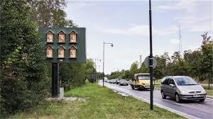 McDonald's Billboard'ları Arı Oteline Dönüştürdü