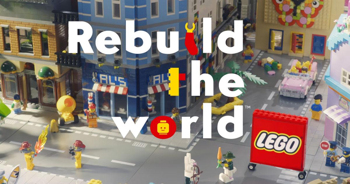 """Lego, Yeni Nesli """"Dünyayı Yeniden İnşa Etmeye"""" Çağırıyor"""