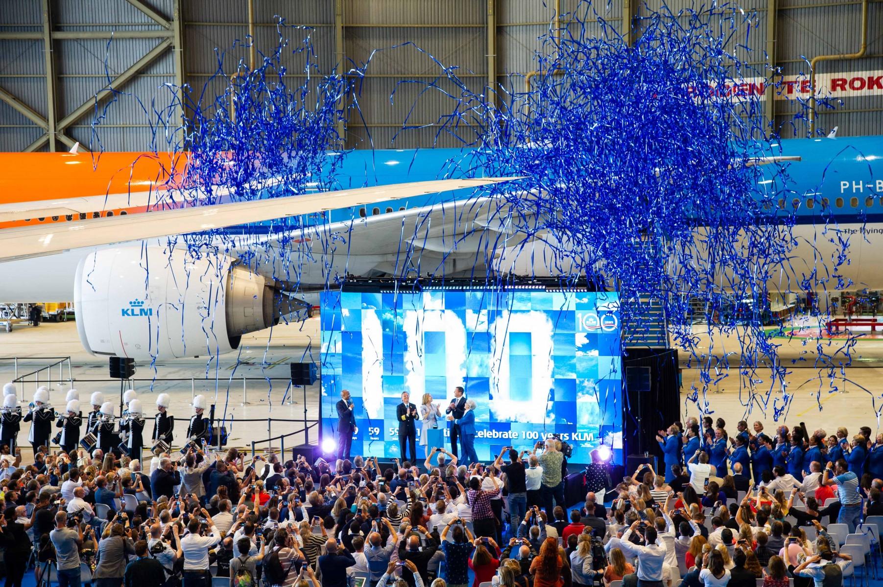 KLM 100. Yılını Kutluyor
