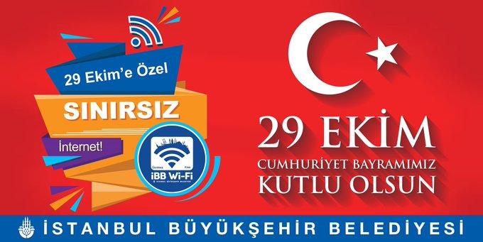 29 Ekim'de İBB'den İstanbul'a Sınırsız İnternet