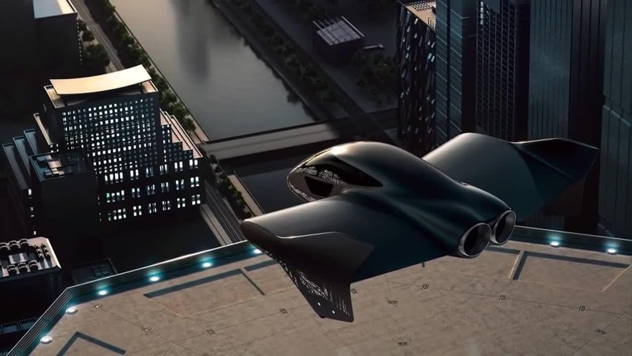 Porsche ve Boeing, Lüks Bir Uçan Otomobil Geliştiriyor