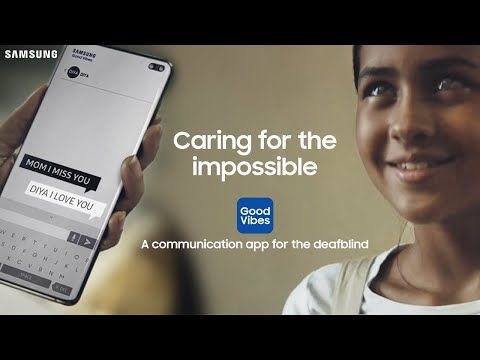Samsung, Görme ve İşitme Engelliler İçin Tasarladığı Uygulamanın Reklam Filminde İzleyenleri Duygulandırdı