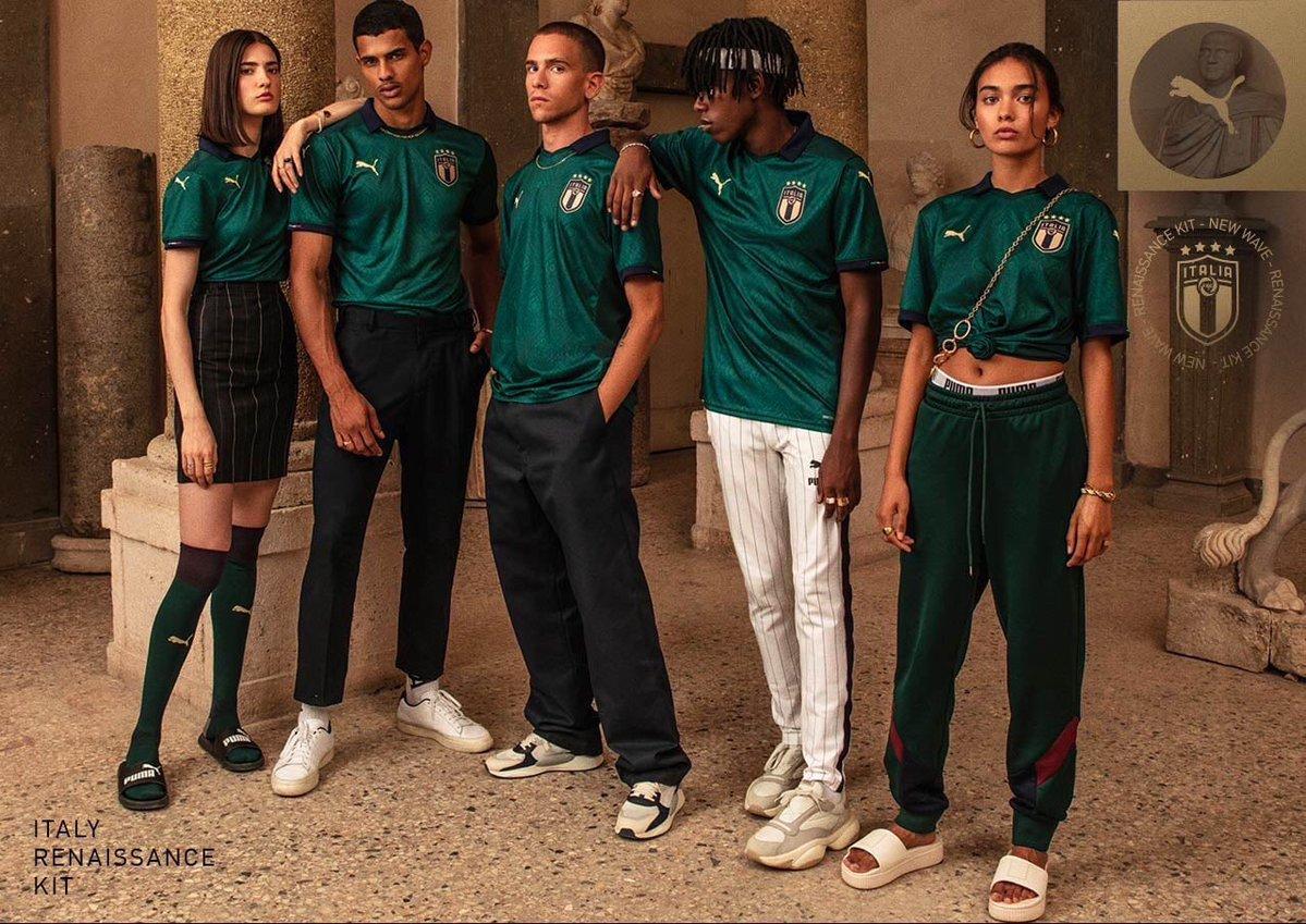 Puma, İtalya Milli Takımı İçin Tasarladığı Yeni Formada Rönesans'tan Esinlenendi