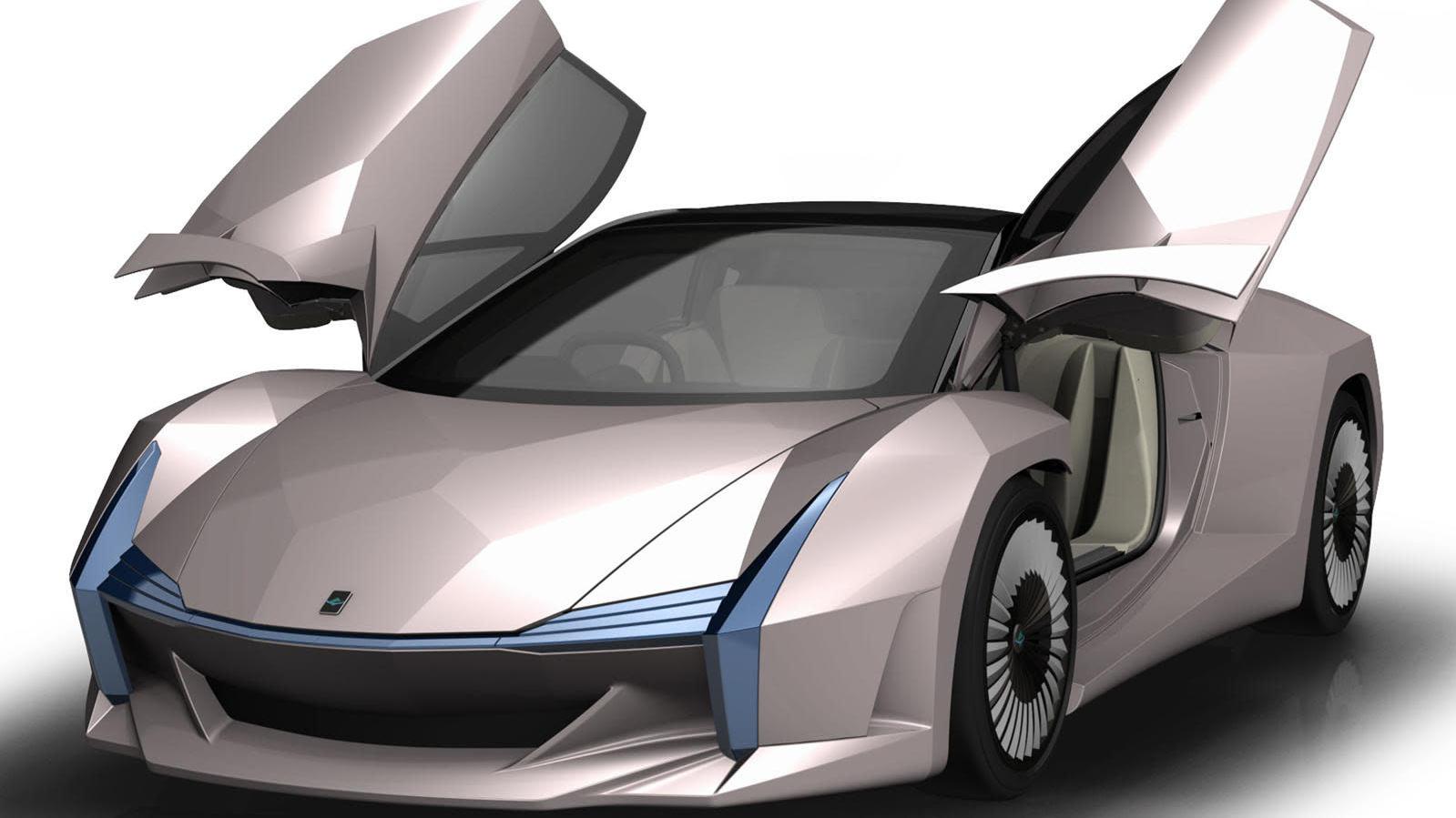 Tamamen Ahşaptan Oluşan Bir Spor Otomobil Üretildi