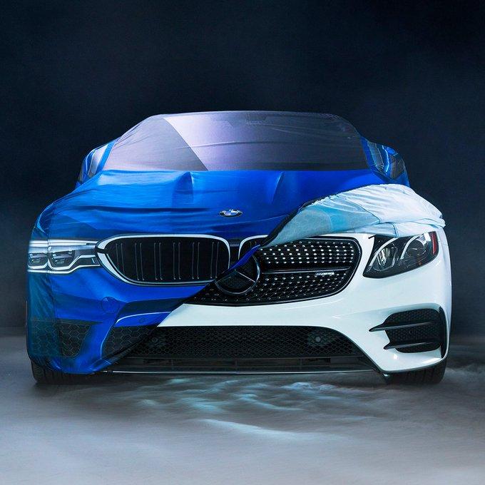 BMW Kendi Kılıfını Cadılar Bayramı Kostümü Olarak Mercedes'e Giydirdi