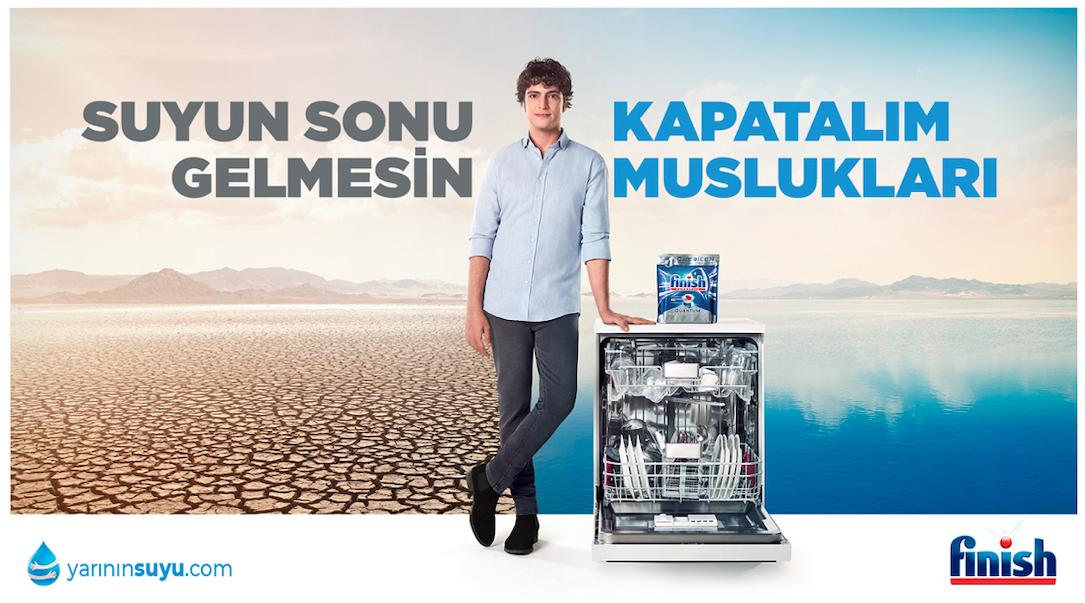 Finish 'Yarının Suyu' Hareketi için Türkiye'de İlk Kez İki Diziyi Bir Araya Getirdi