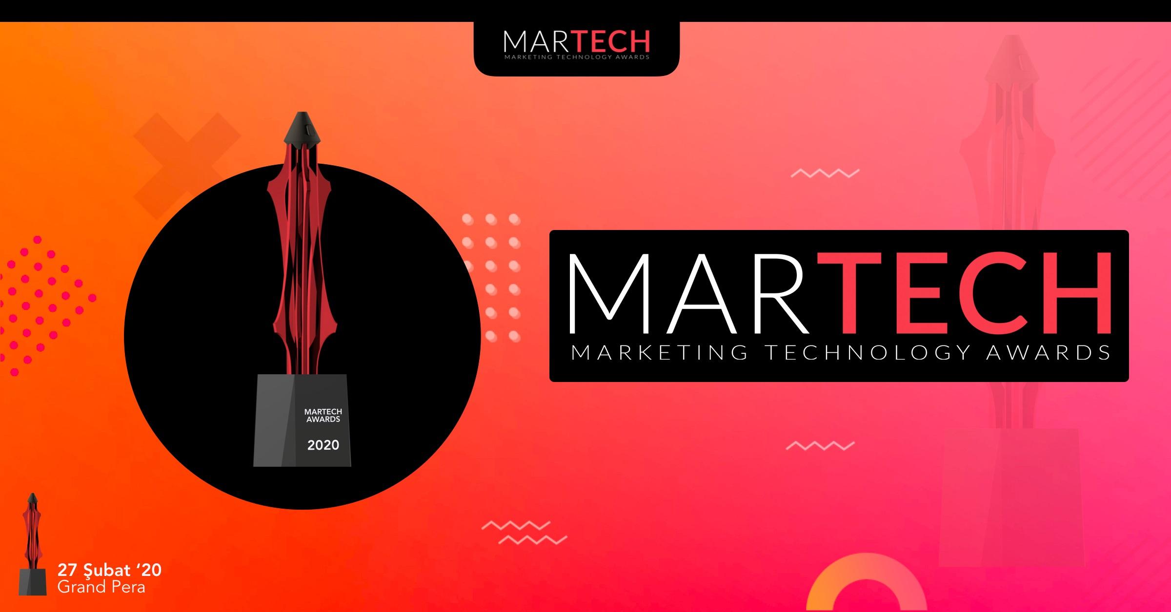 MarTech Awards'ta Kısa Listeye Kalan Projeler 13 Şubat'ta Açıklanacak