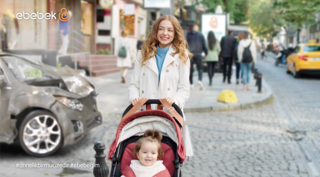 """ebebek Yeni Reklam filminde """"Annelik bir Mucizedir"""" Diyor"""
