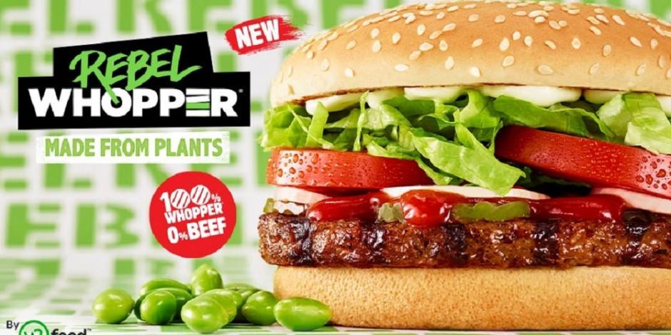 Burger King ve Unilever Etsiz Menü Üretmek İçin Ortaklık Kurdu