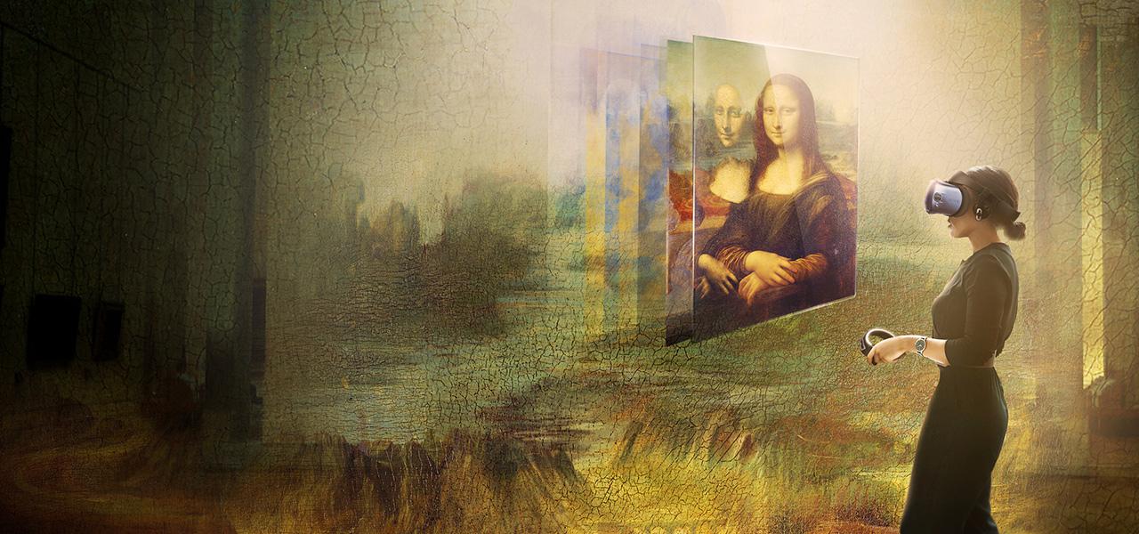 Louvre Müzesi'nde Sanal Gerçeklik Deneyimi ile Mona Lisa'yı Görmek